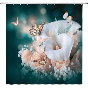 Other - Flower Blossom Shower Curtain
